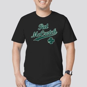 Vintage Pat McCrotch [d] Men's Fitted T-Shirt (dar